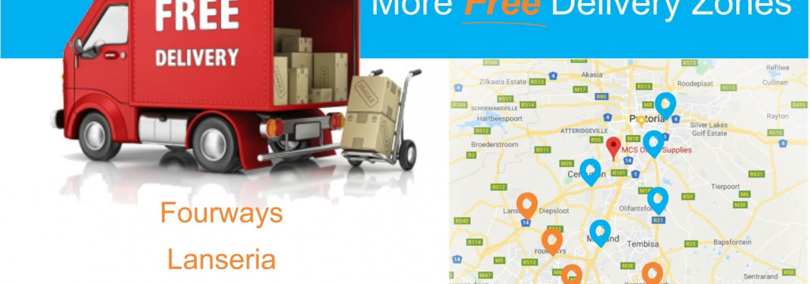 Introducing our New Free Delivery Zones