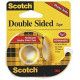 SCOTCH Double Sided Tape on Dispenser 12.7mm x 11.43m