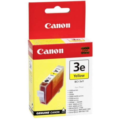 CANON BCI 3Y Ink Cartridge Yellow