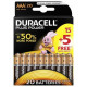 DURACELL Plus Power - AAA Batteries - 20 Pack