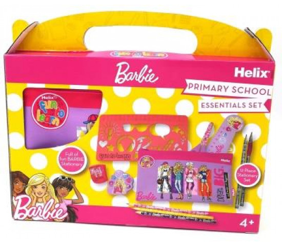 Helix Super School Stationery Kit Pink