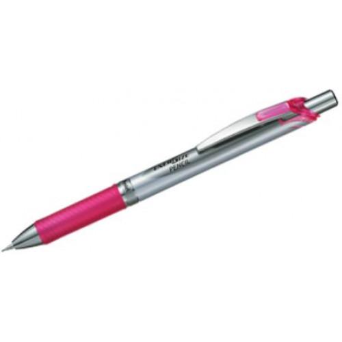 Pentel Energize Pencil 0.5mm Violet, Sky Blue, Black or Pink Barrel Colour
