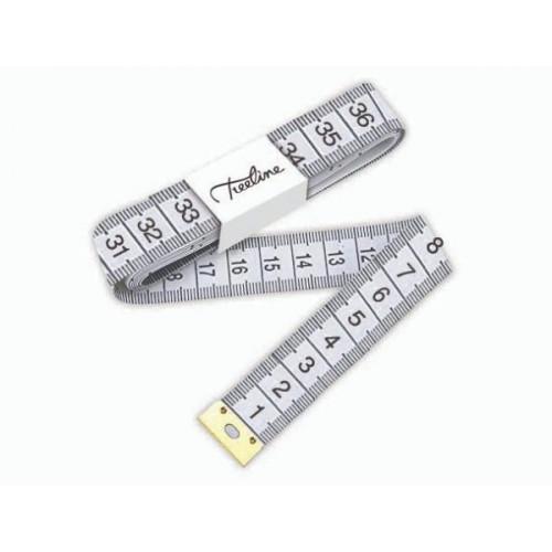 TREELINE Measuring Tape 1500mm - White