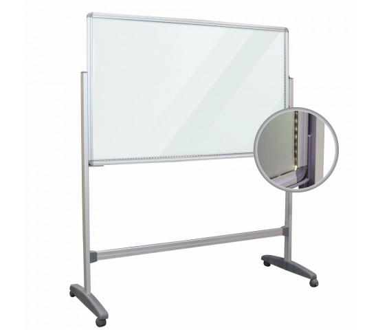 PARROT Glass LED Light Board 1500 x 1000mm including legs