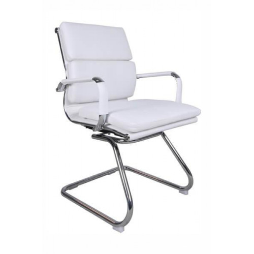 ALASKA Visitors Arm Chair - White