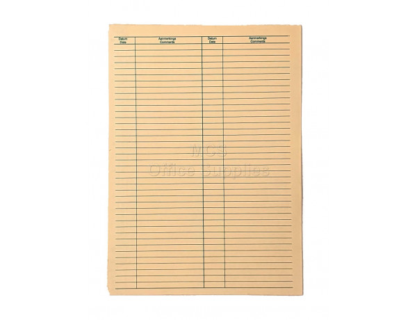 TIDY FILES A4 Economy Custodian General Medical File