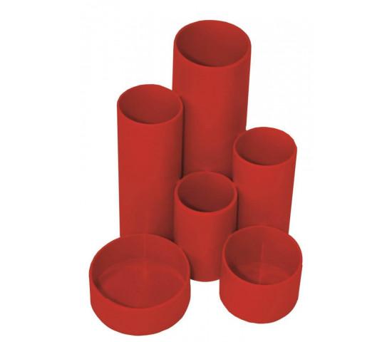TREELINE Desk Organiser Round-Up - Red