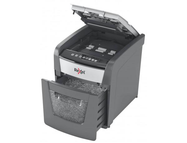 Rexel Optimum AutoFeed 50X Automatic Cross Cut Paper Shredder - 50 Sheet