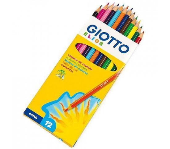 GIOTTO Elios Hexagonal Colouring Pencils - 12s