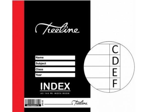 TREELINE Index Book A5 - 144 Page