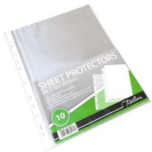 TREELINE A4 Filing Pockets (40 Micron) - 10 Pack