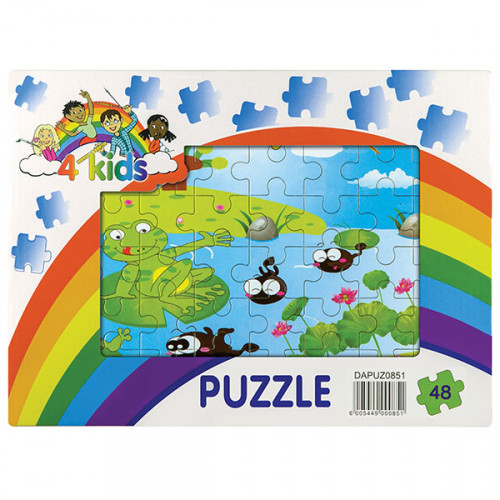 48 Piece Wooden Puzzle - Assorted Designs