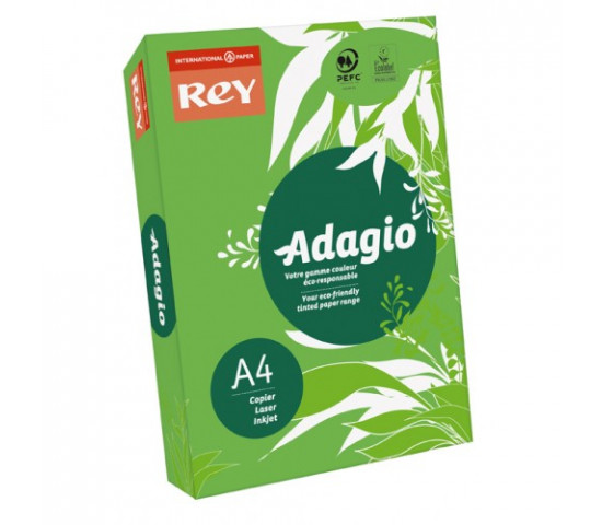 ADAGIO A4 80gsm Deep Green - Ream of 500 Sheets