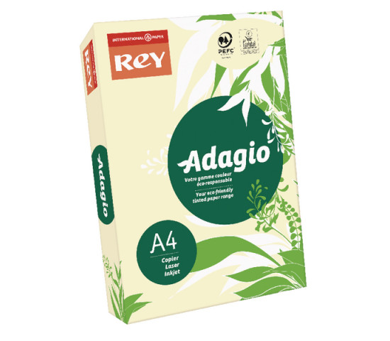 ADAGIO A4 80gsm Ivory - Ream of 500 Sheets