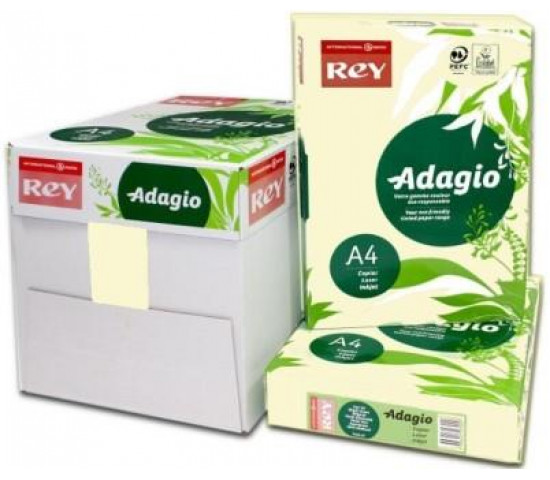 ADAGIO A4 80gsm Ivory - Box of 5 Reams