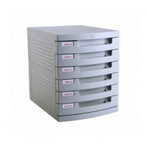 ALL OFFICE 6-Drawer Desktop Storage System (Buddi)