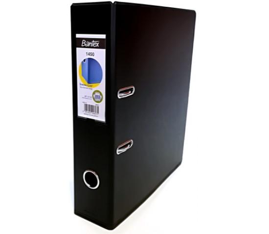 Bantex A4 Lever Arch File 1450 PVC 70mm Black