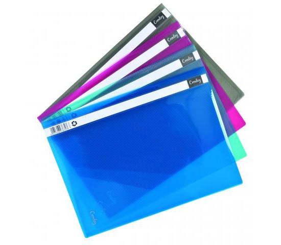 Croxley A4 Presentation or Quotation Folder Purple