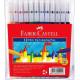 FABER-CASTELL Fibre-Tip Colour Markers 12's