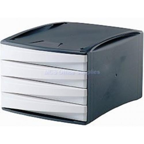 FELLOWES Green2Desk Desk 4-Drawer - White