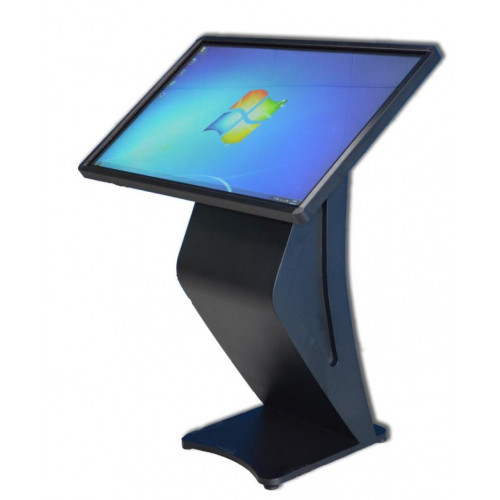 "PARROT 43"" Touch LED Computer Table - BLACK"