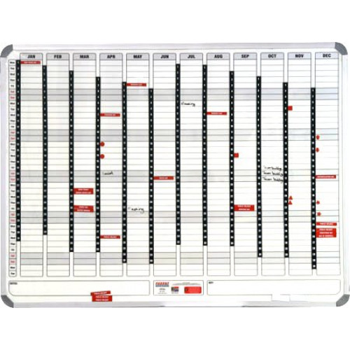 PARROT Perpetual Year Planner 2400 X 1200mm (Magnetic)