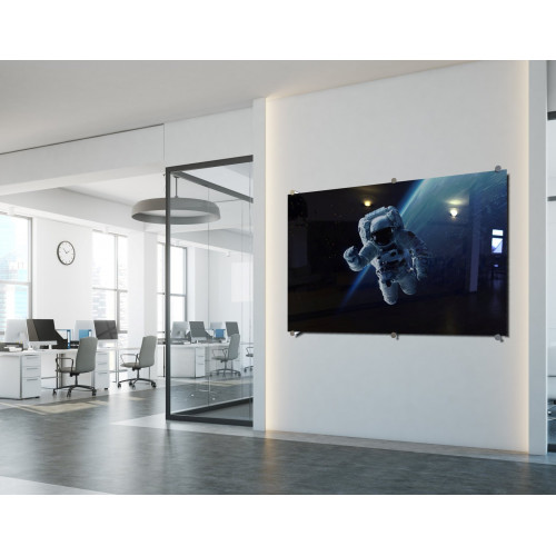 PARROT Glass Board Designer Series Magnetic Printed - 900 x 600mm