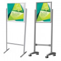 Parrot Poster Stands Double Sided