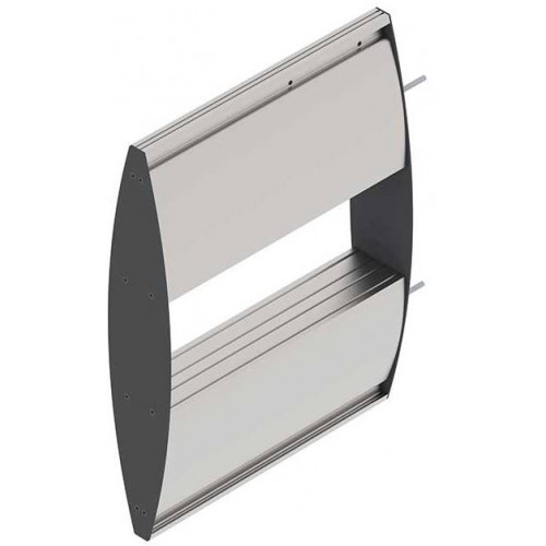 PARROT Double Sided Sign Frame Wall Mounted 210 x 400mm