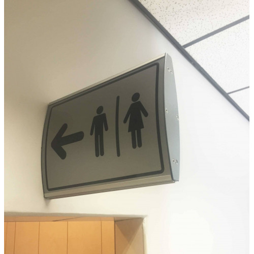 PARROT Double Sided Sign Frame Wall Mounted 300 x 420mm