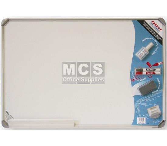 PARROT Whiteboard Slimline Non-Magnetic 900 X 600mm