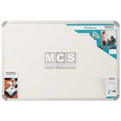 PARROT Whiteboard Slimline Non-Magnetic 1200 X 900mm