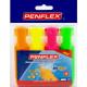 PENFLEX Higlo Highlighters - Wallet 4