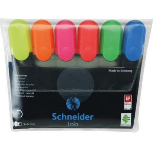 SCHNEIDER - Job 150 Highlighter - Wallet 6