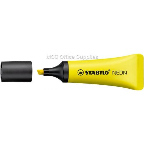 STABILO Neon Highlighter Yellow