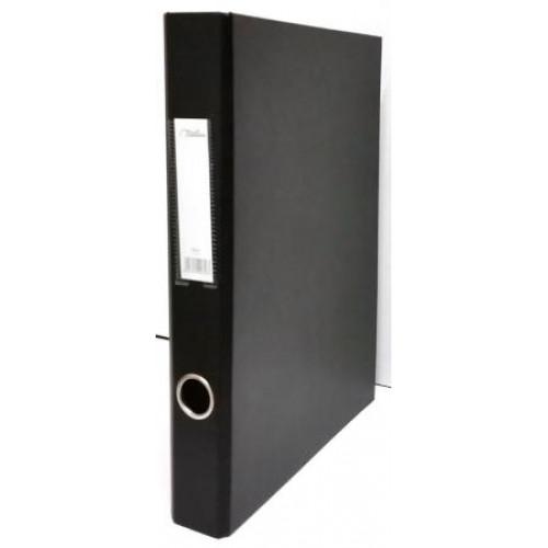 Treeline A4 PVC Ringbinder 25mm Black